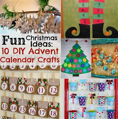 advent calendar crafts for ideas 10 diy advent calendar crafts