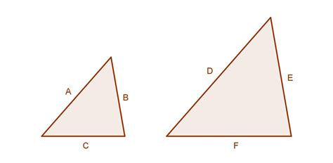 two triangle mathspace proofs using similar triangles