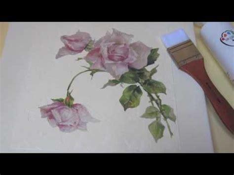 video tutorial decoupage pittorico decoupage romantic and video tutorials on pinterest