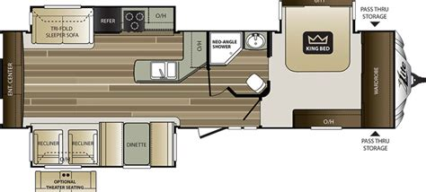 Cougar Floor Plans by 2017 Keystone Cougar 33res Camping World Of Kingston
