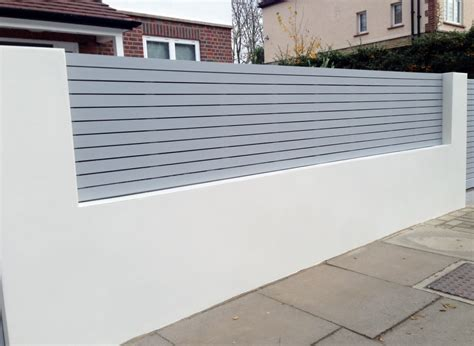 modern wall fence design automated garden