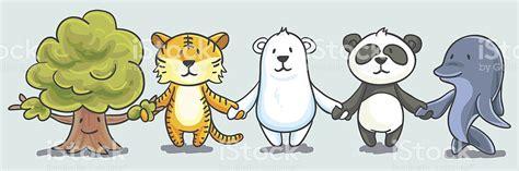 dibujos de animales en peligro de extincion para colorear imagui ilustraci 243 n de dibujos animados de animales en peligro de