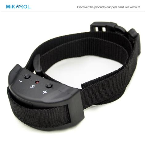 small bark collar no bark collar electronic anti bark collar automatic for stimulation