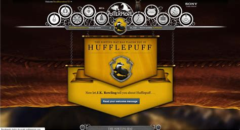 which hogwarts house are you in pottermore pottermore hufflepuff photo 25749427 fanpop