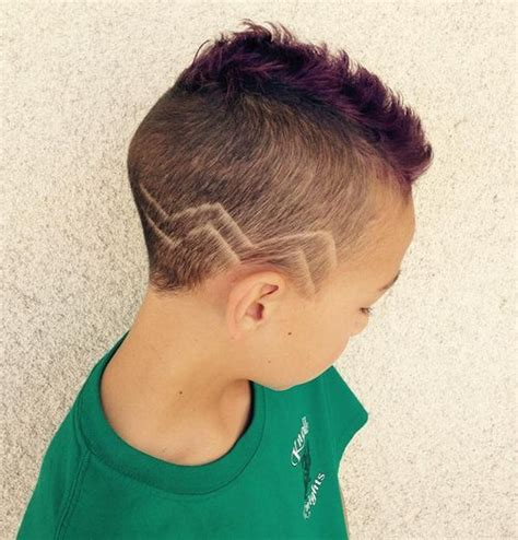 black male haircuts with zig zags 23 cutest haircuts for your baby boy styles weekly