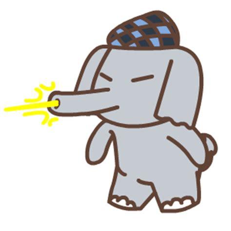 cute elephant animation emoji funny gifs box emoji emoticons