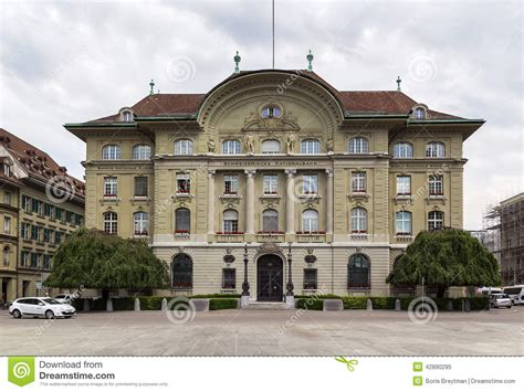 national bank of germany building of the national bank of switzerland bern stock