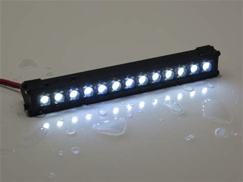 Hobby Scale Light Bar 23743 gear rc 1 10 scale trail torch 4 quot led light bar white