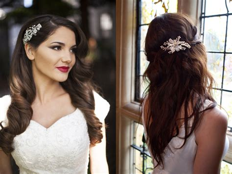 Wedding Hairstyles With Side Combs by Black Bridal Hairstyle With Hair Comb Ipunya