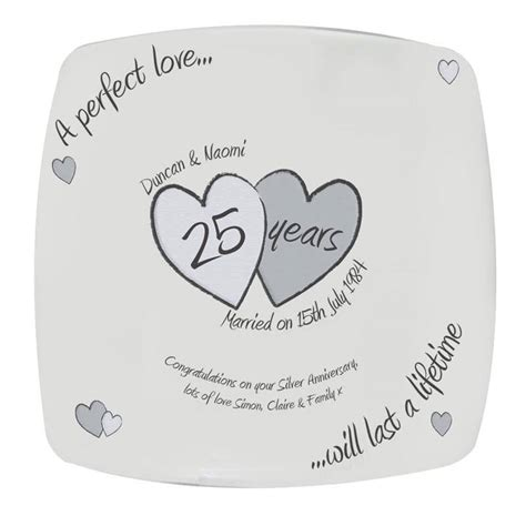 Wedding Anniversary Silver by Image Gallery Silver Anniversary
