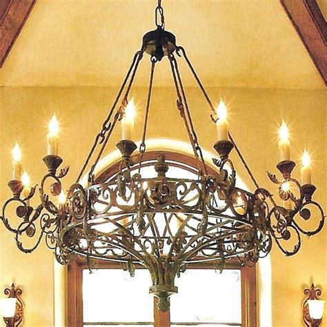 schmiedeeiserner kronleuchter chandelier astounding rustic wrought iron chandelier