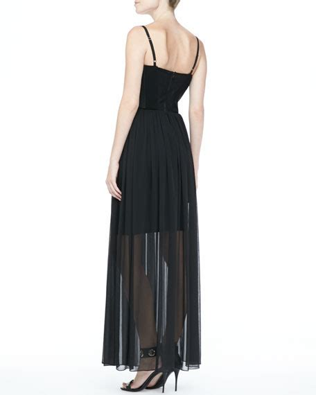 Syakira Maxi 1 shakira bustier maxi dress