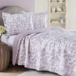 laura ashley amberly heather lavender quilt set from
