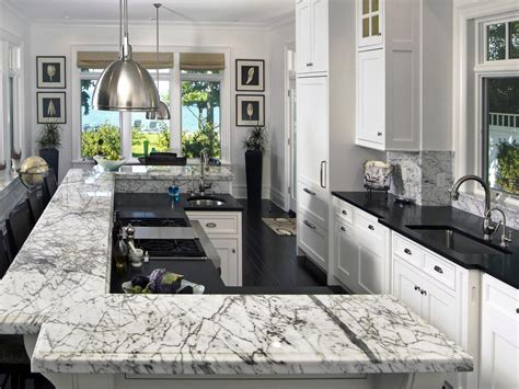 high end kitchen islands amazing black white marble island countertop and high end kitchen cabinet design plus industrial