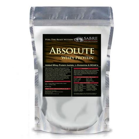 Absolute Whey sabre nutrition absolute whey protein powder 2kg whey