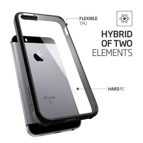 Bumper Backslide Iphone 5 Hitam harga spesifikasi spigen ultra hybrid for iphone 5 5s se