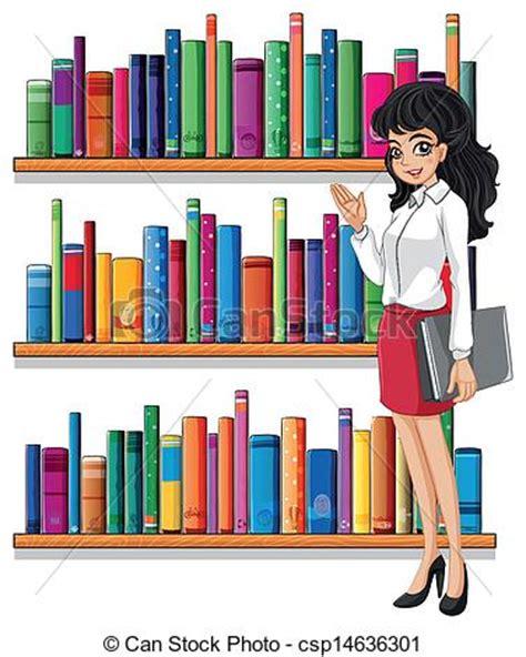 Uws Library Unit Outlines by Vector Clip De Un Joven Mujer Biblioteca Ilustraci 243 N Joven Mujer Csp14636301
