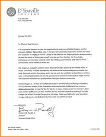 4 college letter of recommendation format quote templates
