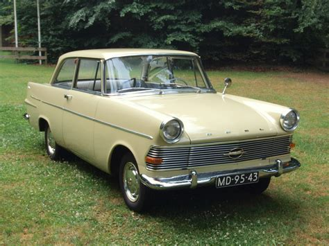 1962 Opel Olympia Rekord Information And Photos Momentcar