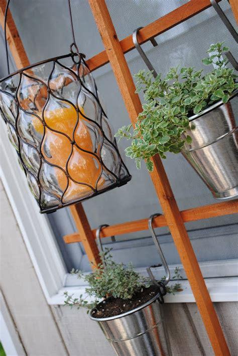 space saving vertical herb garden ideas  small yards