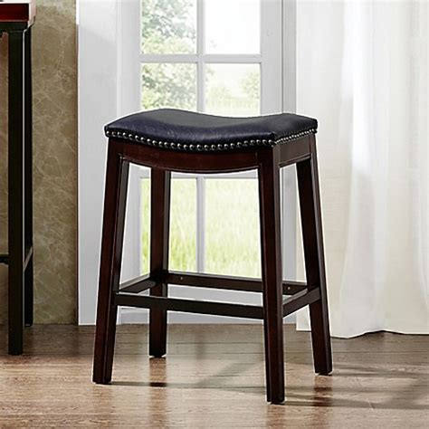 Bar Stools Bed Bath And Beyond by Park Nomad Saddle Bar Stool Bed Bath Beyond