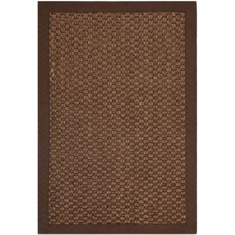 Safavieh Natural Fiber Chocolate 2 Ft X 3 Ft Area Rug 3 Ft Rugs