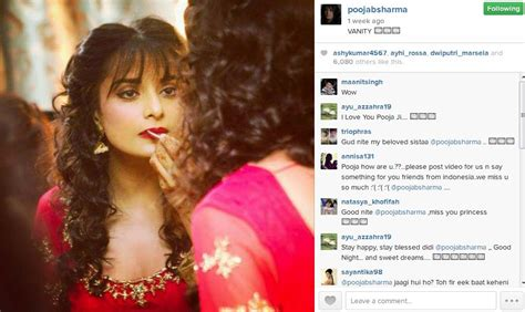 Cantik Dengan Lipstik Merah menor dengan lipstik merah menyala pooja sharma masih cantik kapanlagi