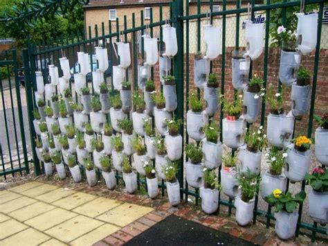 plastic bottle wall bottle garden plastic bottle