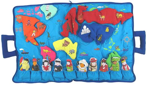 map my world quot my world map travel bag quot fabric travel