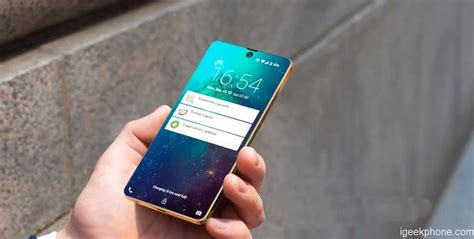 Samsung Galaxy S10 Screen by Samsung Galaxy S10 Concept Has 97 Screen To Ratio Front Embedded Display