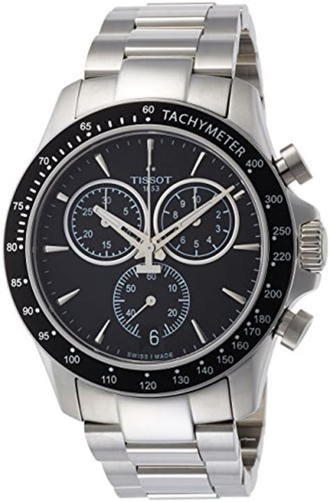 Jam Tangan Tissot T106 417 11 051 00 other watches tissot v8 t106 417 11 051 00 black silver stainless steel analog quartz s wa
