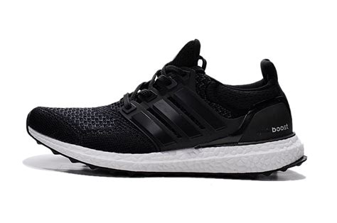 adidas ultra boost mens running shoe in all black