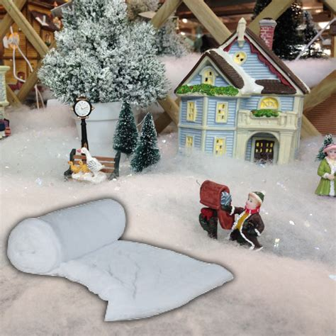 how to make artificial snow for christmas tree imitation artificial snow fleece sheet decoration display blanket ebay