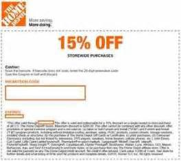 home depot printable coupons free the home depot coupon