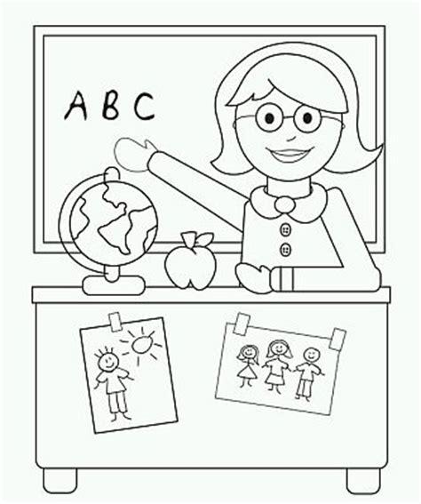 dibujos maestra infantil az dibujos para colorear banco de imagenes y fotos gratis dibujos del dia del