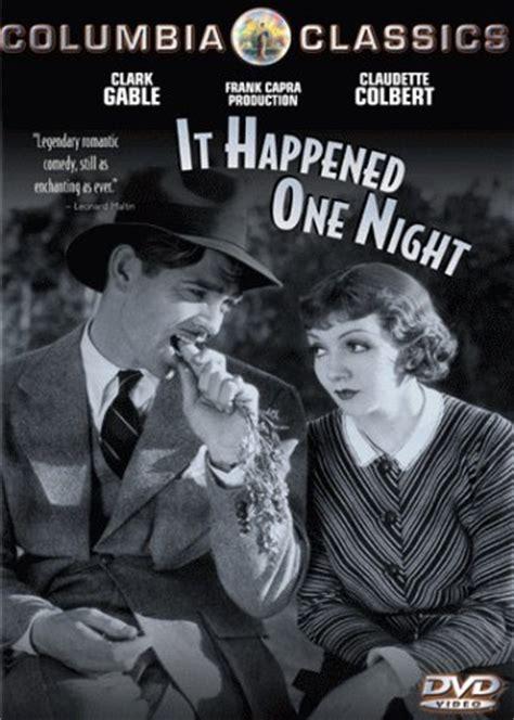 film it happened one night cleery s alley vintage 1930s film it happened one night