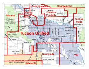 arizona school district map schools tucson homes for sale tucson real estate