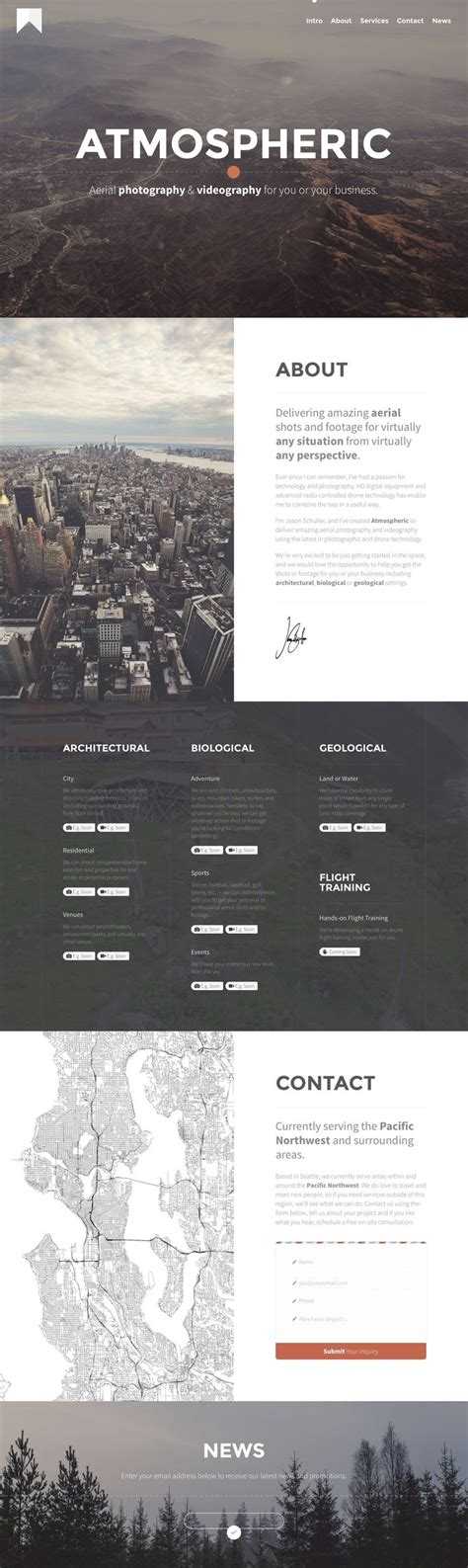 49 Best Web Templates Images On Pinterest Design Web Website Designs And Design Websites Aerial Photography Website Templates