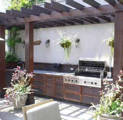 contemporary backyard ideas summer kitchen outdoor rooms modern backyard ideas