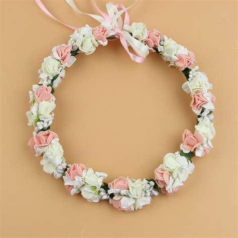 Flower girl wreath headpiece diy room