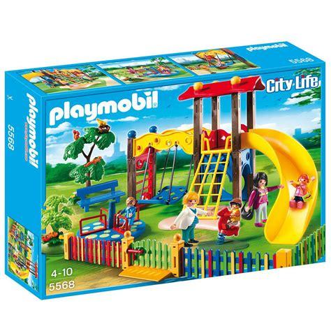 play mobil square pour enfants avec jeux playmobil city 5568
