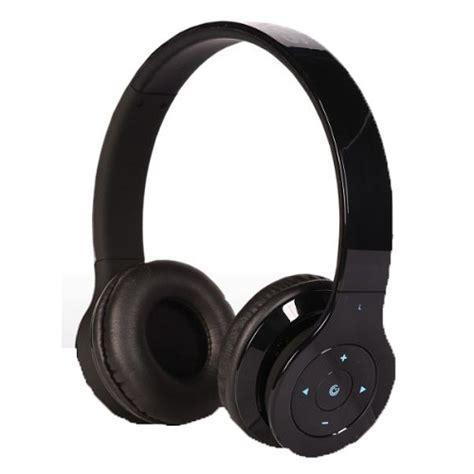 Sonicgear Airphone V Wireless Bluetooth Black jual headset bluetooth sonicgear bluetooth headphone airphone v black murah berkualitas