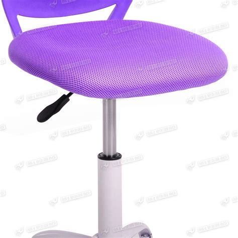 purple computer desk blue pink purple office chair rolling executive swivel