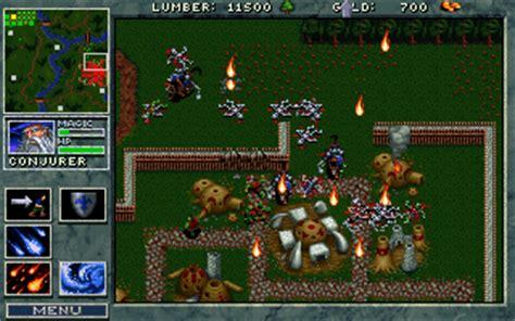 full version dos games free download image gallery warcraft 1 online