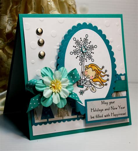 New Year Card Handmade - card handmade greeting card may your holidays