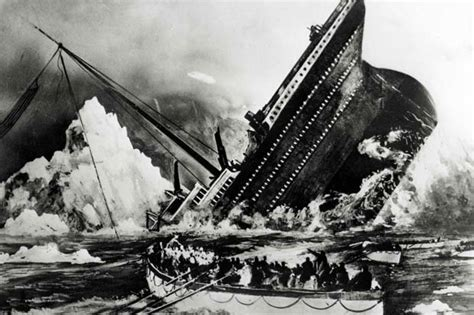 Titanic Sinking Reason by Titanic Pictures Sinking Real Imaganationface Org