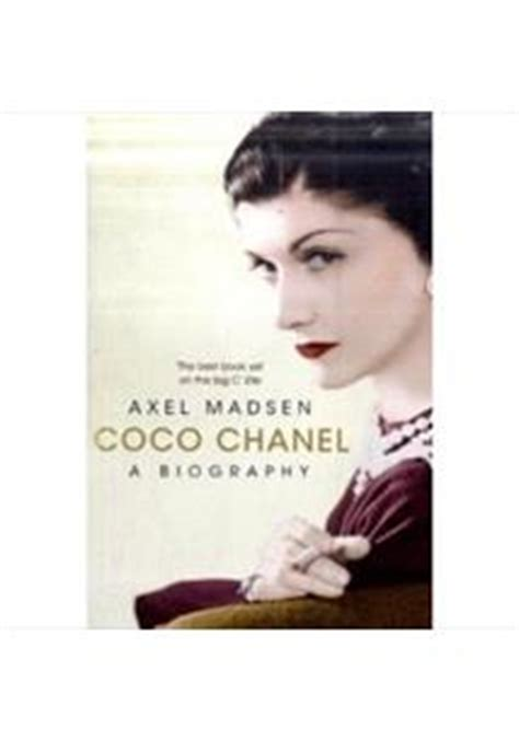 biography online coco chanel coco chanel a biography alex madsen livro