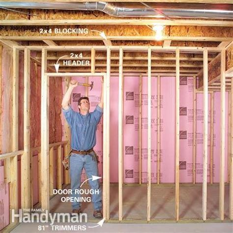How to Finish a Basement: Framing and Insulating   The