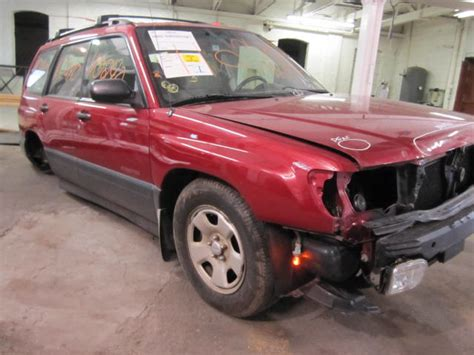 1998 Subaru Forester Parts by Parting Out 1998 Subaru Forester Stock 110240 Tom S