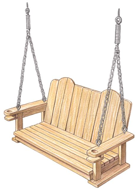 build swing farmstead project build a porch swing myfarmlife com